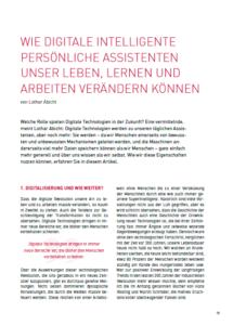digitale intelligente persönliche Assistenten